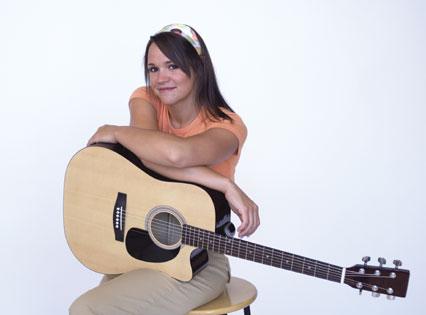 アコースティックギターの練習