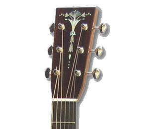 アストリアス・ギターのヘッド部分