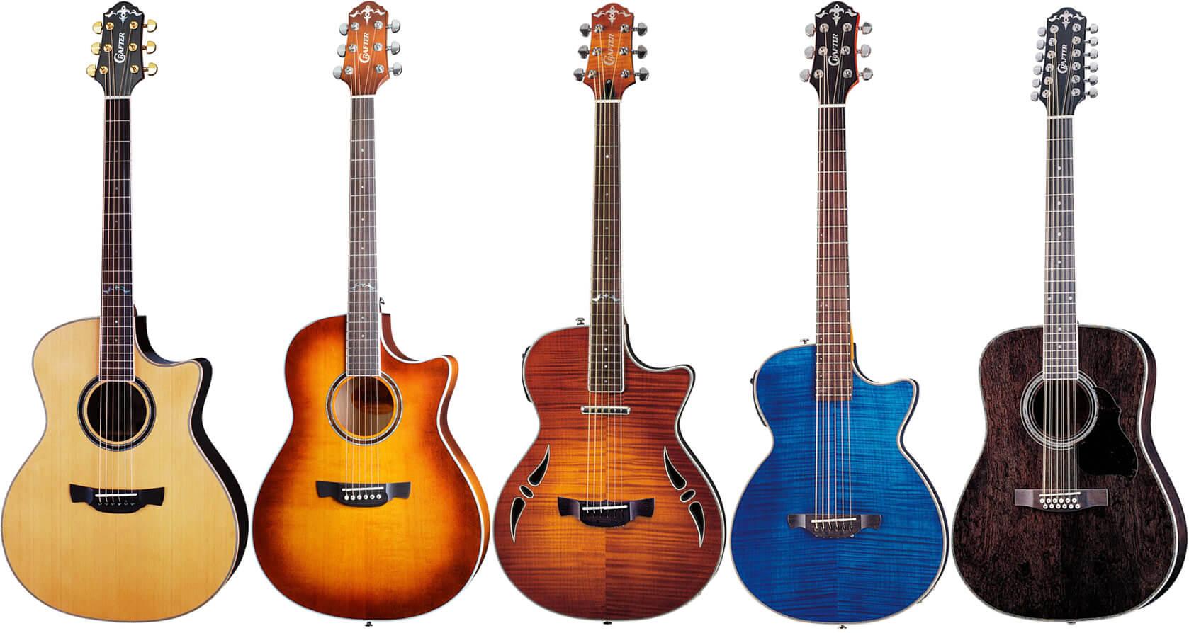 Crafter(クラフター)のアコースティックギター