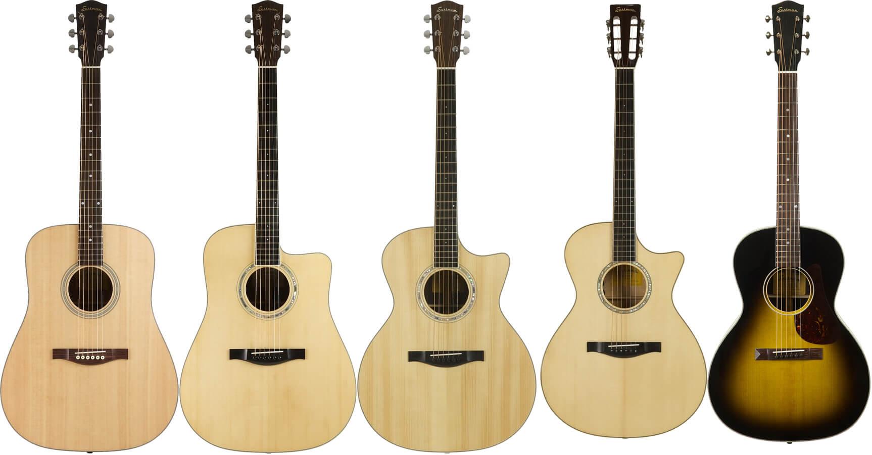 EASTMAN(イーストマン)のアコースティックギター