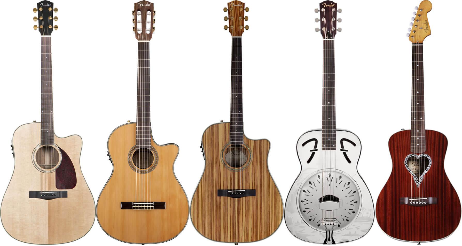 Fender(フェンダー)のアコースティックギター