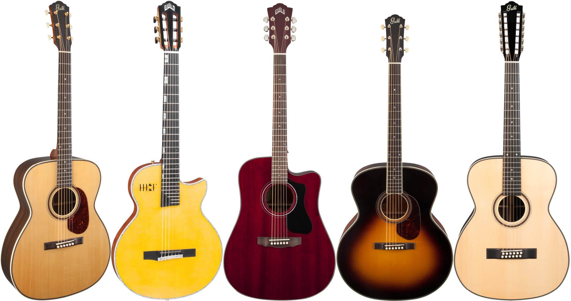 Guild(ギルド)のアコースティックギター