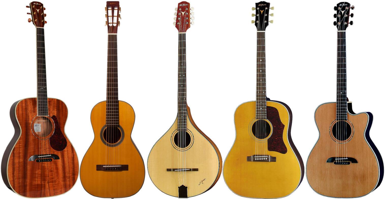 K.Yairi(Kヤイリ)のアコースイティックギター
