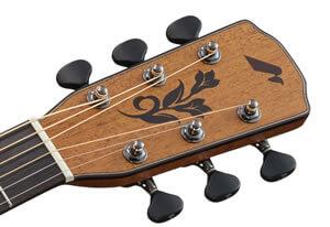 モーリス・ギターのヘッド部分