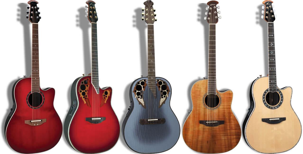 Ovation(オベーション)のアコースティックギター