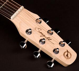 シーガル・ギターのヘッド部分