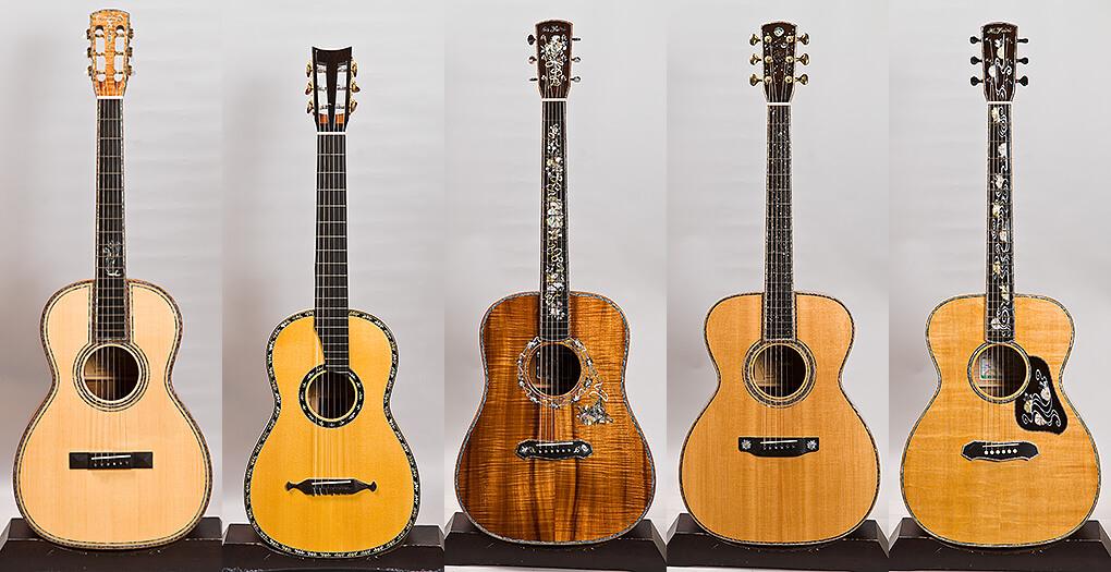 ヤイリ・カスタムショップ製ギター