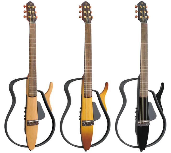 YAMAHAサイレントギターのラインナップ