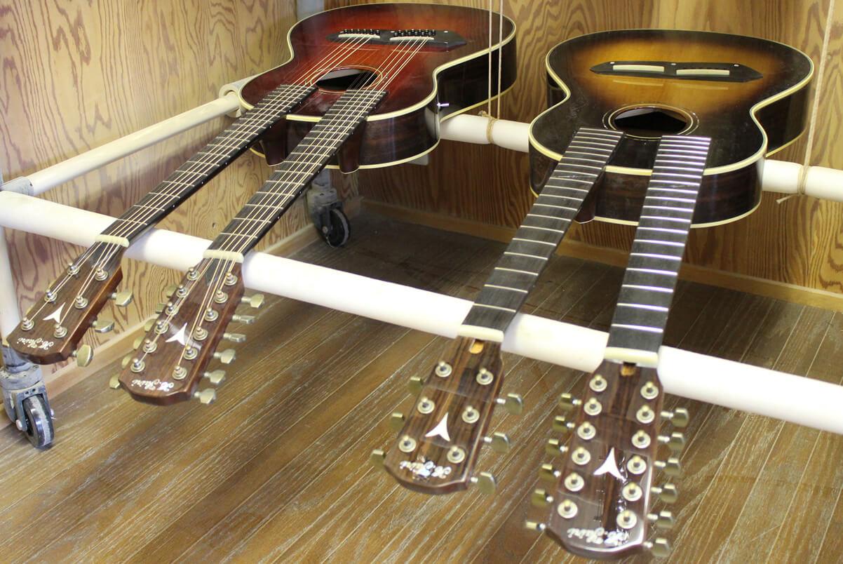 ダブルネック・アコースティックギター