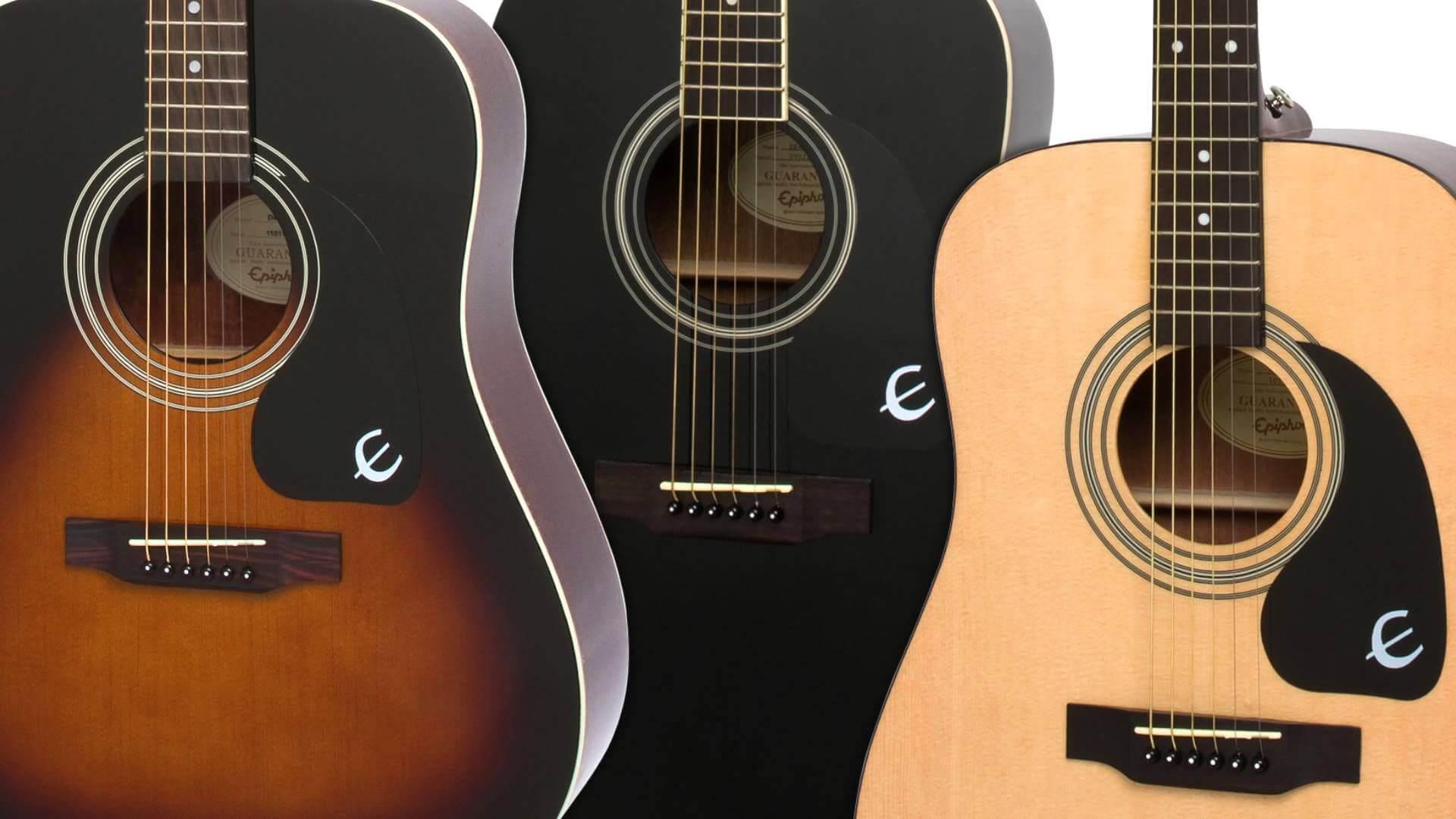 エピフォンのアコースティックギター