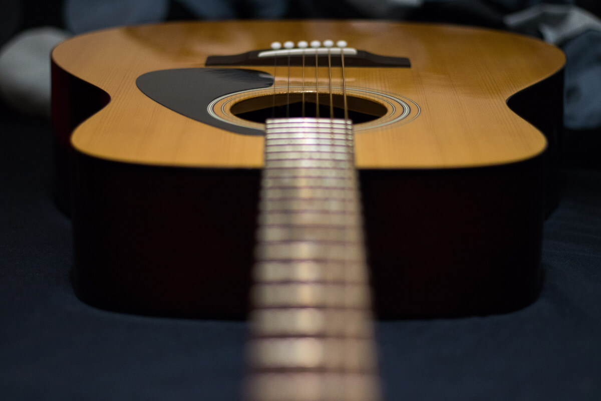 YAMAHAのアコースティックギター